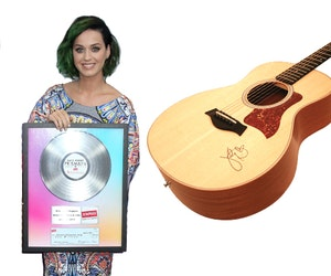 Katy perry guitar giveaway