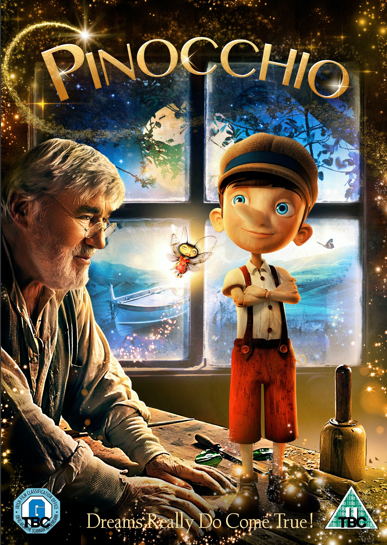 Pinocchio dvd slv v0u