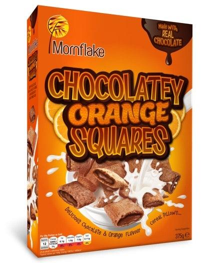 Choco orange sq 375g 2