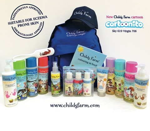 Win childs farm rucksack