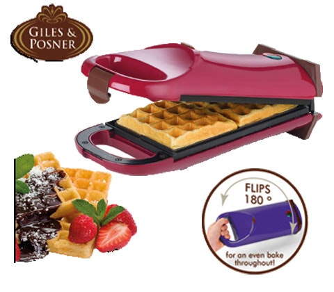 Giles * Posner Flip Over Waffle Maker sweepstakes