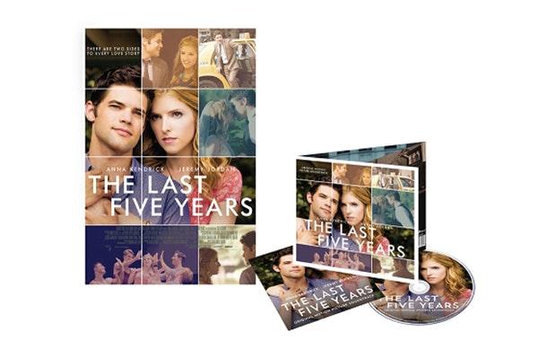 Last 5 years movie soundtrack sm