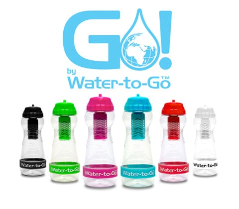 Win 22 x Water-to-Go bottles sweepstakes
