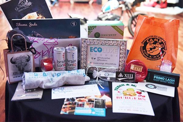 Ecoluxe movie awards giftbag sm