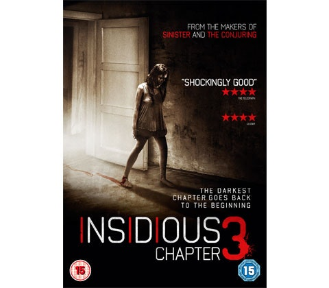 Insidious Chapter 3 DVD sweepstakes