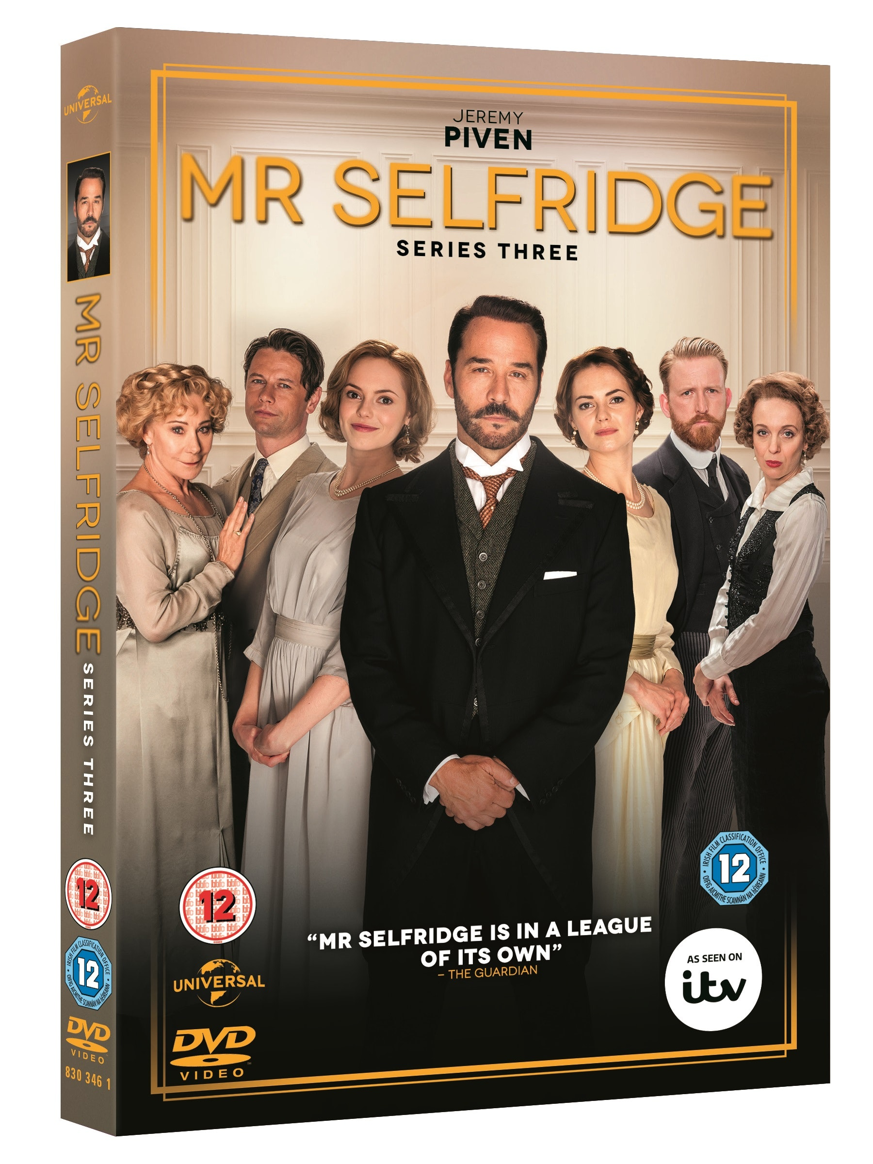 Mr selfridge series 3 3d packshot