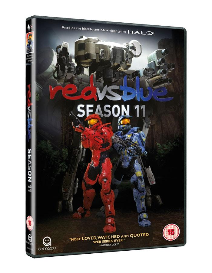 Red vs blue dvd
