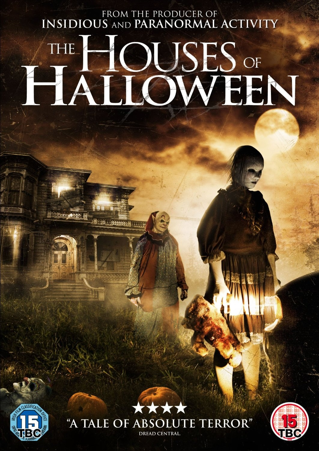 The Houses of Halloween DVD sweepstakes