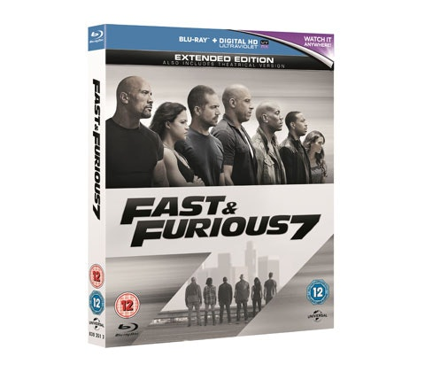 Fast & Furious 7 DVD sweepstakes
