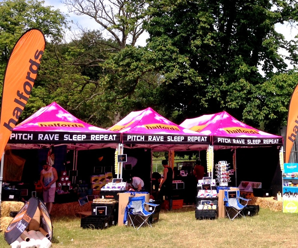Bestival tickets and Halfords gear sweepstakes