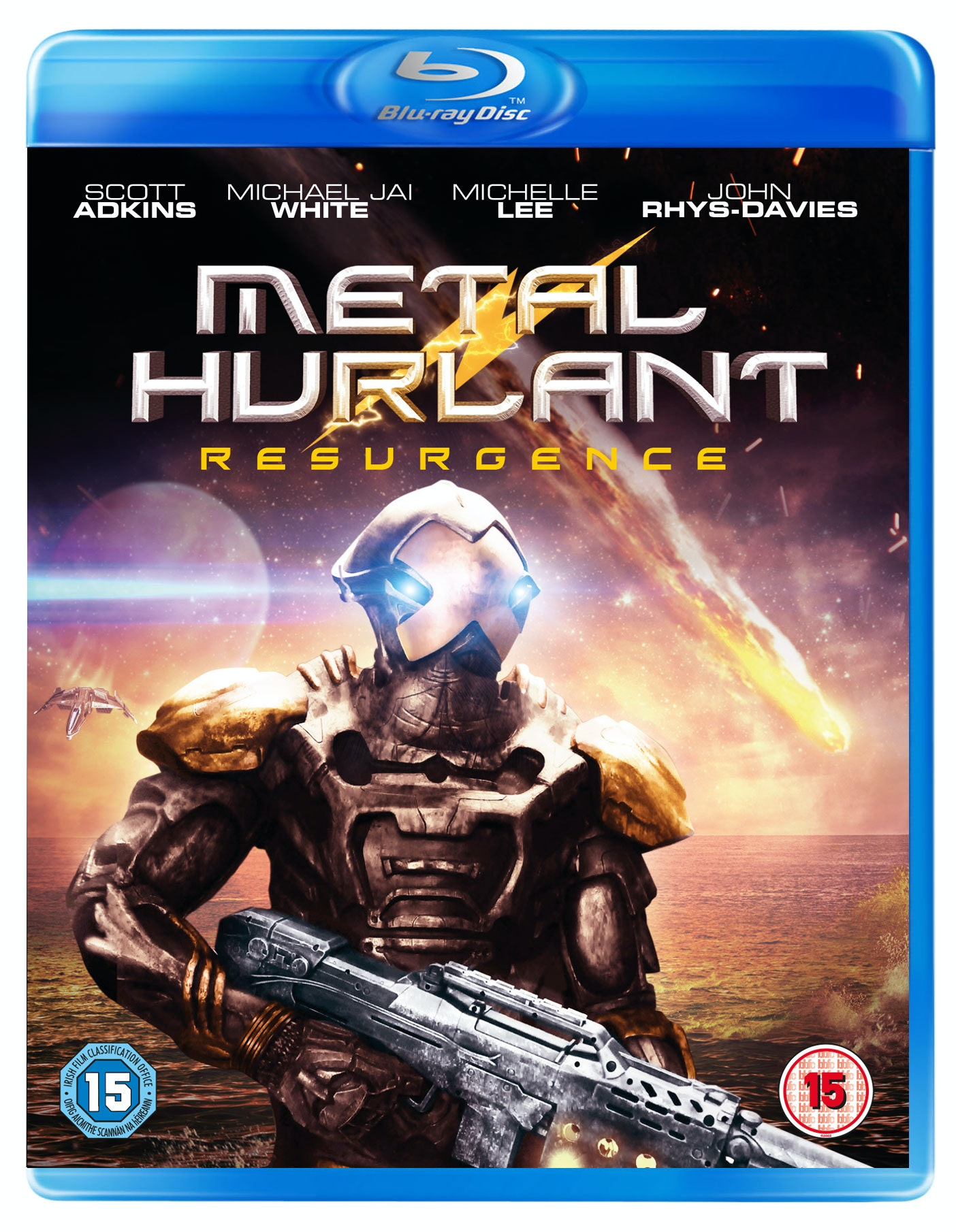 Metal Hurlant: Resurgence Blu-ray sweepstakes