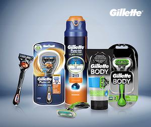 Gillette autozeitung produktpaket
